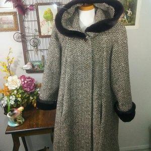 Warm Long Wool Coat